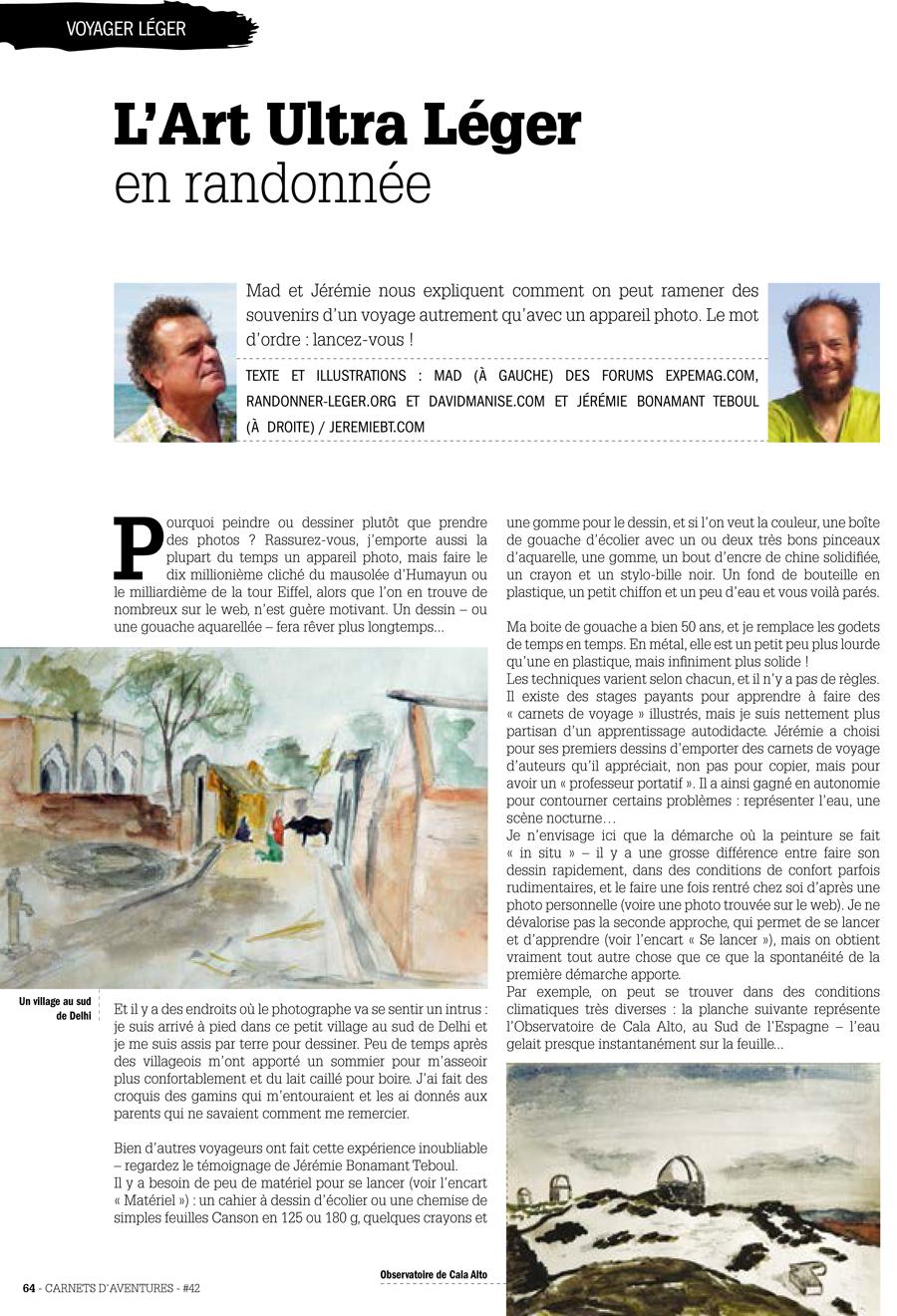 Article Carnet d'aventure - Dessin-1